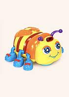 Детская музыкальная интерактивная развивающая игрушка «Весёлые букашки». Музыкальная интерактивная пчёлка.