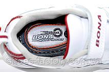 Детские кроссовки из натуральной кожи Bona, на липучке, фото 3