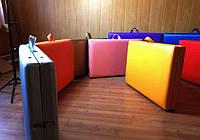 Кушетки и массажные столы / Кушетка массажная переносная. 185х60 см. Эко-кожа Италия, Люкс