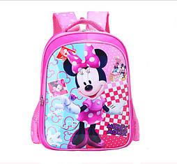 Школьный рюкзак Микки Маус для девочки первоклассницы