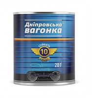 Эмаль алкидная Красно-коричневая ПФ-133 Днепровская вагонка 0,9л (Краска, лак)