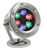 Подводный светильник RGB 24V 6W Fradors
