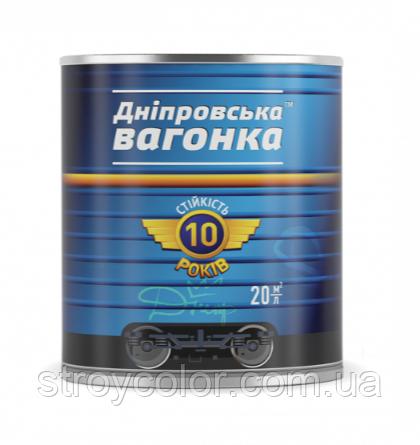 Эмаль алкидная Серая ПФ-133 Днепровская вагонка 2,5л (Краска, лак)