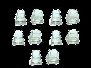 Накаблучники для бальных танцев Flare Cut (5пар в упаковке)