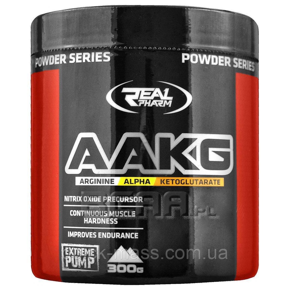 Аргинин Real Pharm AAKG 300g