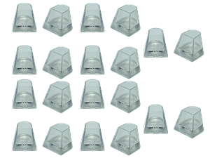Накаблучники Flare2.5(10пар в упаковке)для танцевальной обуви
