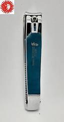 Книпсер для ногтей MERTZ никелированный с пилочкой 8 см 556
