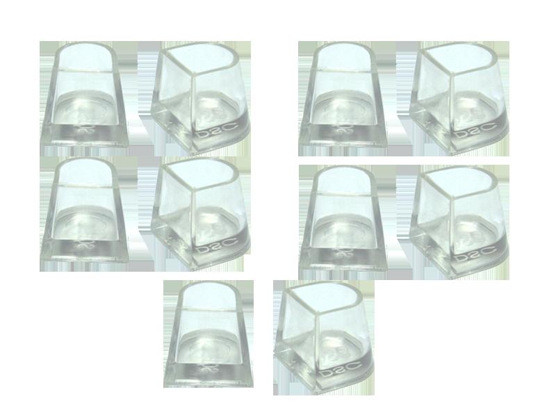 Накаблучники Contour(5 пар в упаковке)