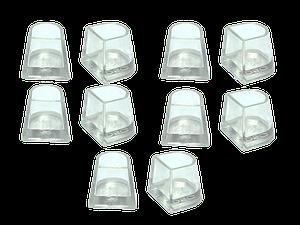 Накаблучники для бальных танцев Contour(5 пар в упаковке)