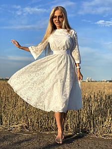 Шикарное женское платье из органзы