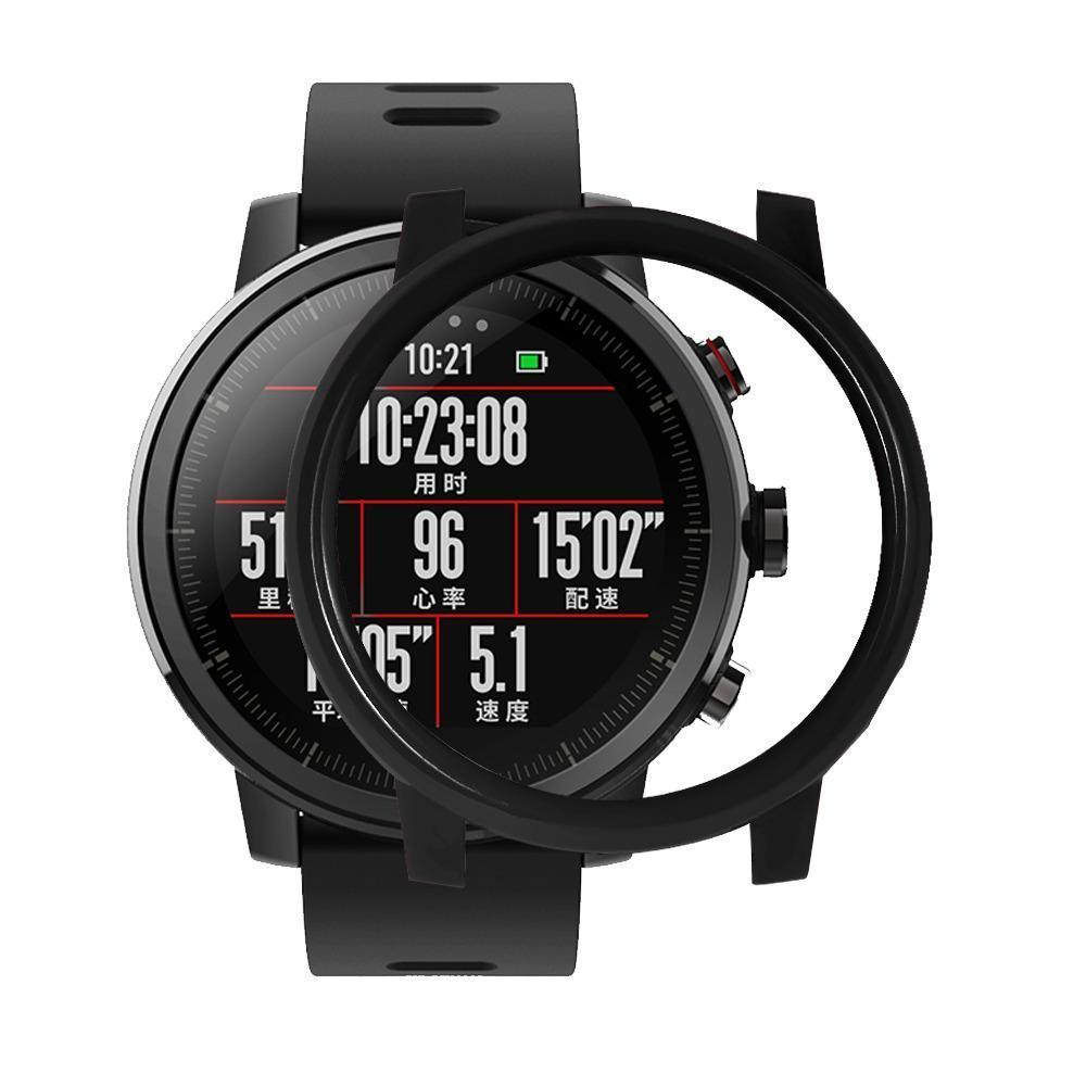 Amazfit Stratos / Stratos 2 Защитный бампер для смарт часов, Black
