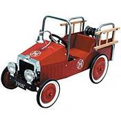 Педальная машинка Goki Пожарная машина (14069)