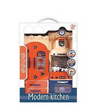 Детский игровой набор детская Кухня 32223 с посудой,звуковыми и световыми эффектами