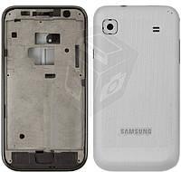 Корпус для Samsung Galaxy SL i9003 - оригинальный (серебристый)