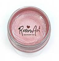 """Рідка металізована поталь """"Лотос"""" рожева Resin Art. Велика уп-ка, 40 мл."""