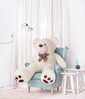 Плюшевый Мишка, Большая игрушка 160 см. Белый