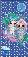 Пляжное полотенце (велюр-махра) 70х140. Код 70140-396