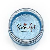 """Рідка насичена металізована фарба """"Бірюза"""" Resin Art , 40 мл. Знижка: трохи забруднений уп-ка"""
