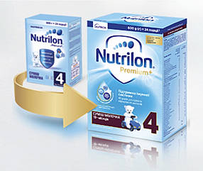 Nutrilon 4, 600 г з 18 міс.(Нутрілон 4) суха молочна суміш