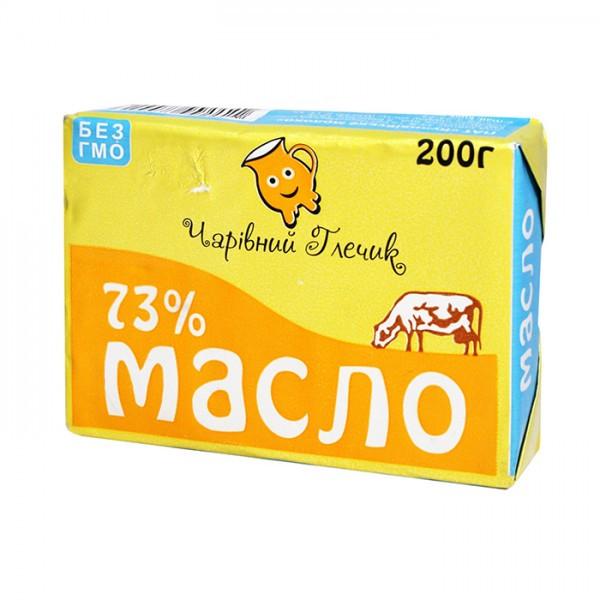 Масло селянское 73% Чарівний глечик 200 г