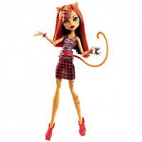 Wels Кукла Монстер Хай Торалей Страйп Коффин Бин Monster High Toralei Stripe Coffin Bean, фото 1