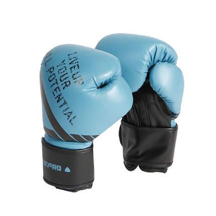 Рукавички боксерські LivePro Sparring Gloves 10 унцій Blue (LP8600-10), фото 2
