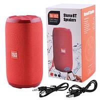 Портативная Bluetooth колонка T&G TG-152 красная, фото 1