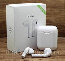 Беспроводные Bluetooth наушники i8mini TWS , блютуз наушники 8 мини , гарнитура, Новинка, фото 3