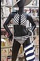 Пляжна сумка жіноча в полоску. ТМ Feba. Польша., фото 2