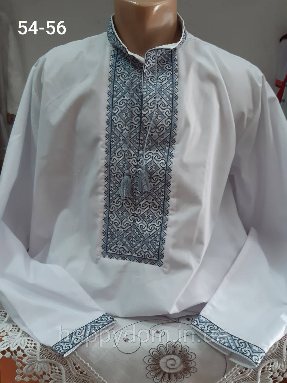 Рубашка вышиванка белая