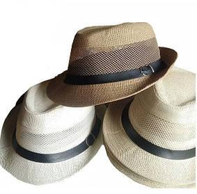 Шляпа с сеточкой 58 см