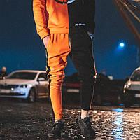 Спортивные штаны Be Happy черно-оранжевые ( только размер XS ), фото 1