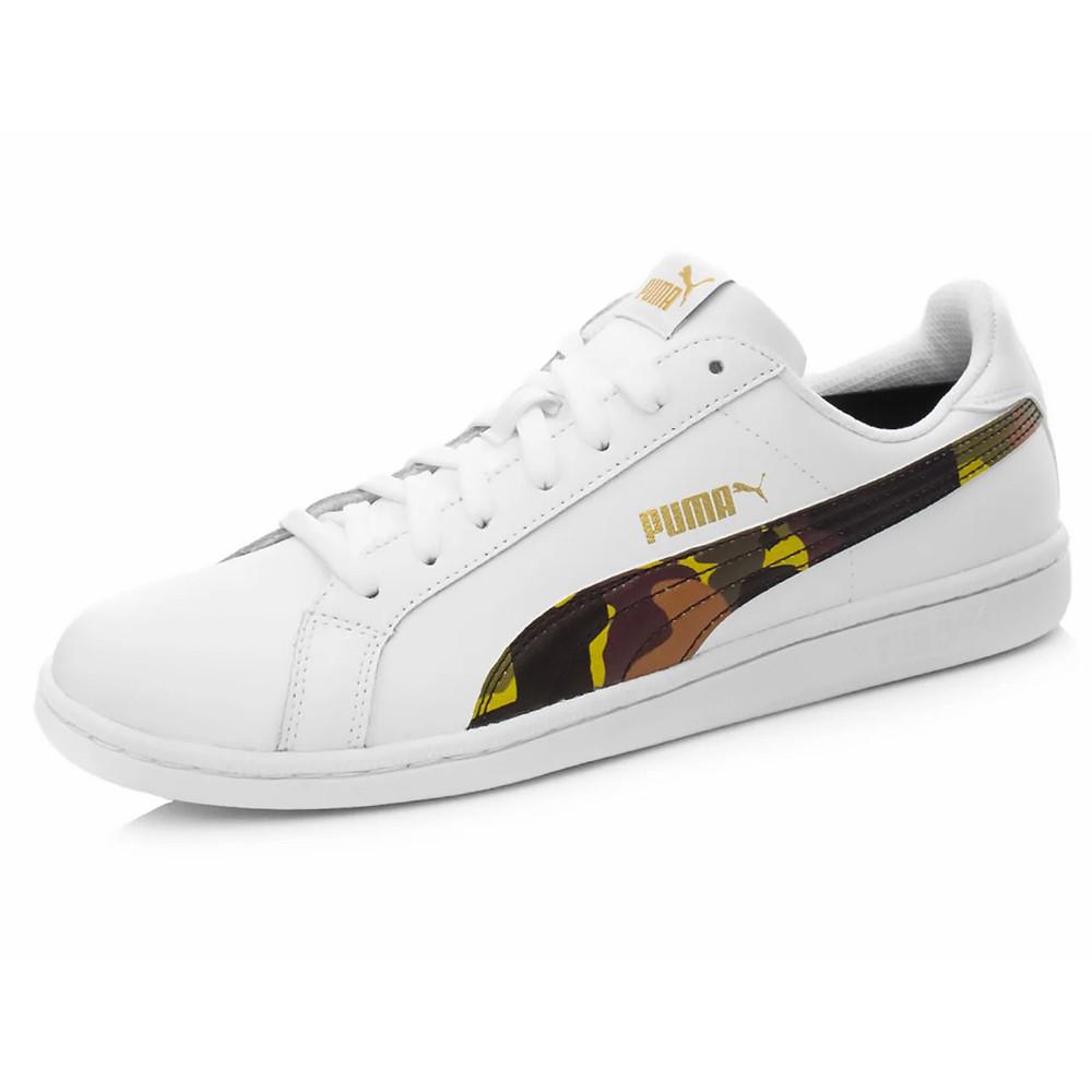 Кросівки чоловічі Puma Smash L Camo білі (365601-01)