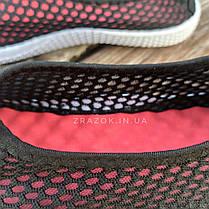 Чорні сліпони чоловічі та унісекс аквашузы чорні сліпони чоловічі та жіночі сітка кросівки, фото 3