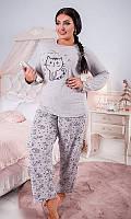 Пижама большого размера 82123