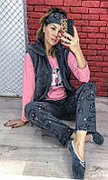 Молодежная пижама тройка 82133