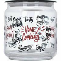 """Банка для сыпучих Luminarc """"Home Cooking"""" с прозрачной крышкой 0.75 л (P6020)"""