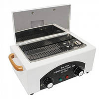 Сухожаровый шкаф стерилизатор YRE ch-360t для маникюра парикмахерских инструментов косметологический Белый