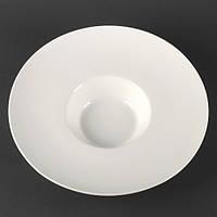Тарелка для пасты фарфоровая 300 мл Helios Extra white (A7018)