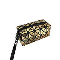 Косметичка-клатч Geometry Gold