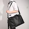 """Городская сумка Calvin Klein для ноутбука до 18"""". Спортивная сумка через плечо. Черная сумка для учебы., фото 8"""