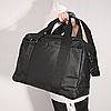 """Городская сумка Calvin Klein для ноутбука до 18"""". Спортивная сумка через плечо. Черная сумка для учебы., фото 7"""