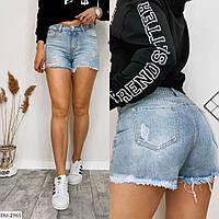 Джинсовые шорты ,женские стильные шорты, фото 1