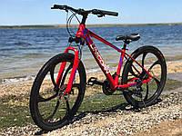 "Велосипед на литых дисках Unicorn Flash LD 18""/26"" Bright Red"