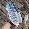 Сірі сліпони чоловічі та унісекс аквашузы сірі сліпони чоловічі сітка кросівки, фото 4