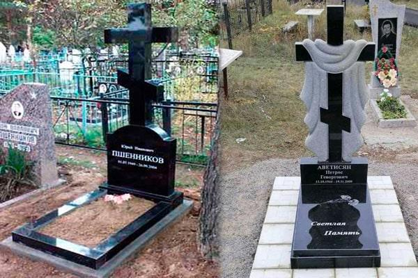 Хрести з граніту на могилу