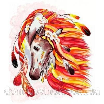 "Картина по номерам ""Лошадь"" ."