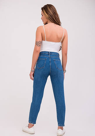 Женские укороченные голубые джинсы, р.28,30,31, фото 2