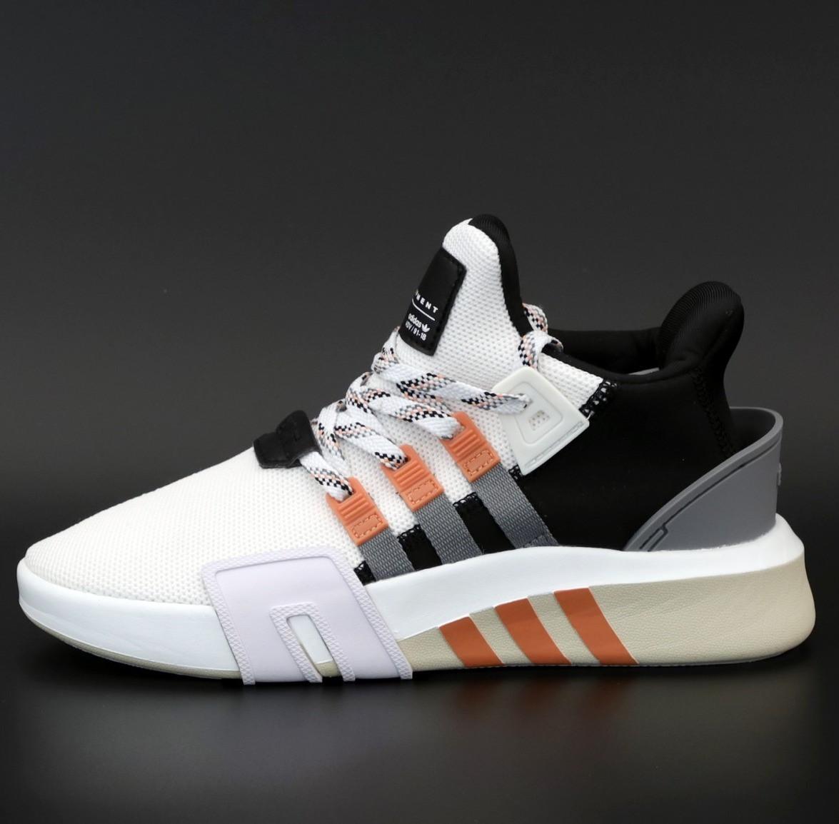 Мужские кроссовки Adidas EQT Bask ADV White