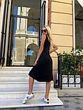 Женское повседневное платье миди, фото 6